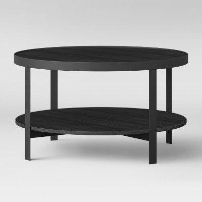 Riehl Metal Round Coffee Table Black - Project 62™
