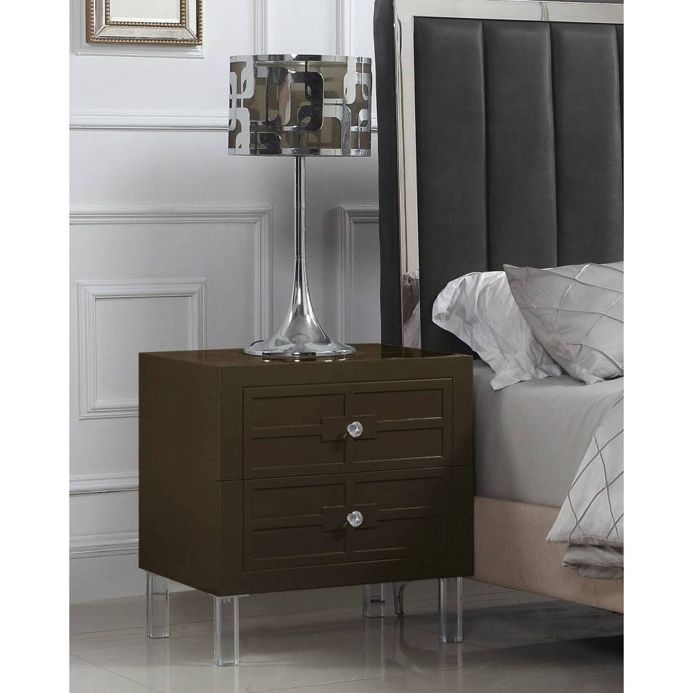 Lucca Side Table Brown - Chic Home Design was $379.99 now $227.99 (40.0% off)