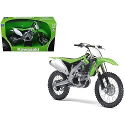 2012 Kawasaki KX 450F Dirt Bike Green 1/12 Diecast Motorcycle Model by New Ray