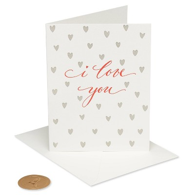 I Love You Simple Elegant Card - PAPYRUS