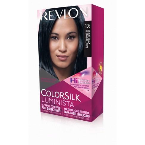 Revlon Colorsilk Luminista Permanent Hair Color Dark Hair 105