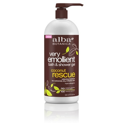 Alba Very Emollient Coconut Rescue Bath & Shower Gel - 32oz - image 1 of 3