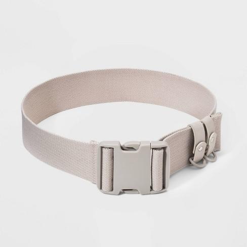 Women's Wide Seat Buckle Belt - Wild Fable™ Tan - image 1 of 2