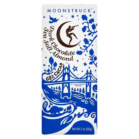 Moonstruck Sea Salt Dark Chocolate Candy Bar - 3oz - image 1 of 1