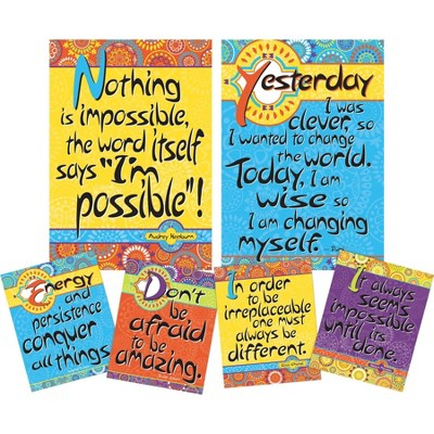 Set of 6 Yes You Can Motivational Art Prints & Posters - Barker Creek