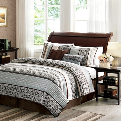 Cambridge Quilted Coverlet Set
