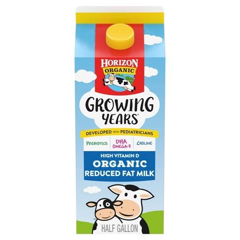 Horizon Organic Growing Years 2% Milk - 0.5gal - image 1 of 4