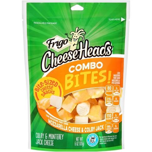 Frigo CheeseHeads Combo Bites Mozzarella & Colby Jack Cheese - 6oz - image 1 of 2