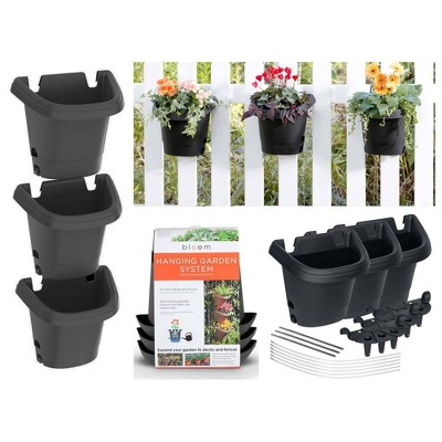 3pc Hanging Garden Planter System - Bloem