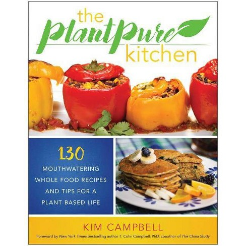 The Plantpure Kitchen - by  Kim Campbell (Paperback) - image 1 of 1