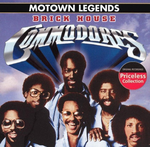 Commodores - Motown legends:Three times a lady (CD) - image 1 of 3