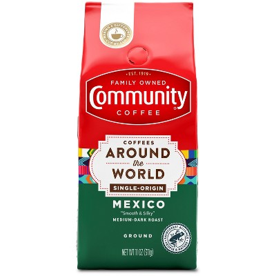 Community Coffee Coffees Around the World Medium Roast Ground Coffee - 11oz