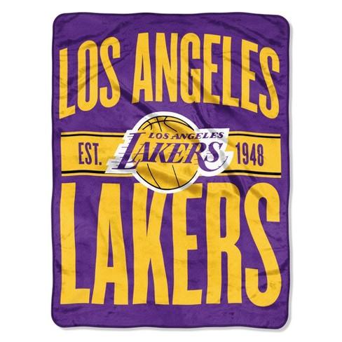 NBA Los Angeles Lakers Micro Fleece Blanket - image 1 of 1
