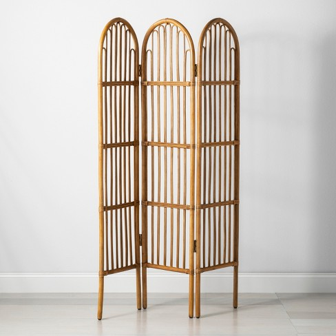 Amazing 6 X 3 7 Rattan Room Divider Screen Brown Opalhouse Download Free Architecture Designs Embacsunscenecom