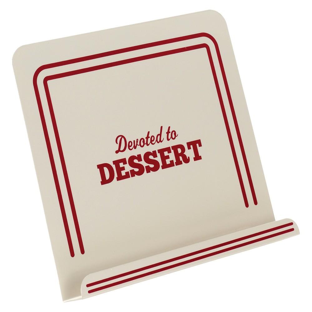 Cake Boss Countertop Accessories Metal Cookbook Stand - Devoted To Dessert Motif