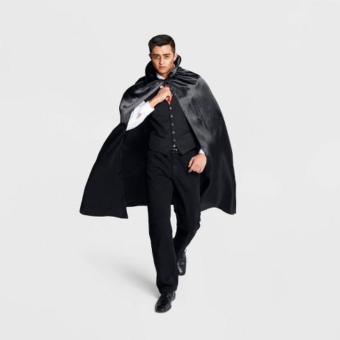 b7fbdbf39f3 Adult Vampire Satin Cape Halloween Costume Accessory - Hyde & EEK! Boutique™