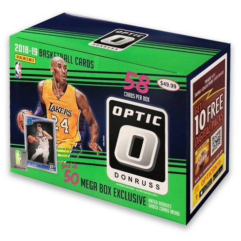 2018 19 Nba Optic Donruss Basketball Trading Card Mega Box
