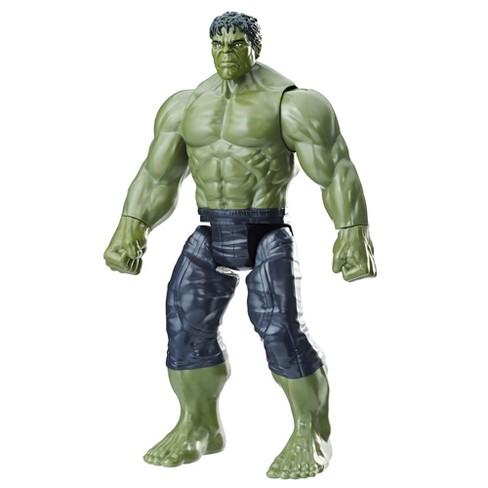marvel infinity war titan hero series hulk with titan hero power fx