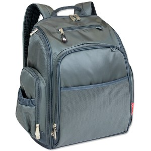 Fisher-Price Kaden Diaper Backpack - Gray