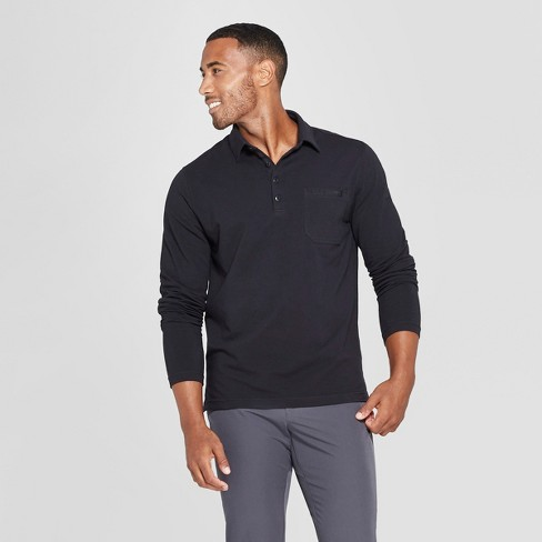 MPG Sport Men's Long Sleeve Polo Shirt - image 1 of 2