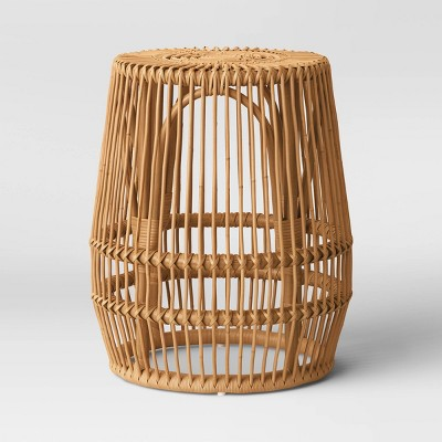 Pyronia Rattan Cage Accent Table Natural - Opalhouse™