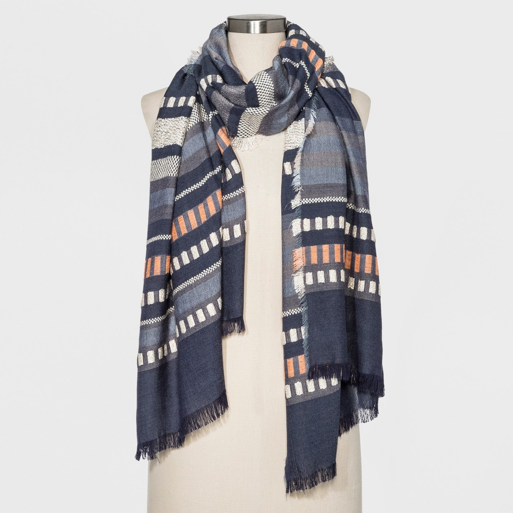 Women's Oblong Scarf - Universal Thread Gray