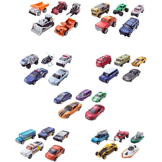 Matchbox 5 Car Pack - Styles may vary image number null