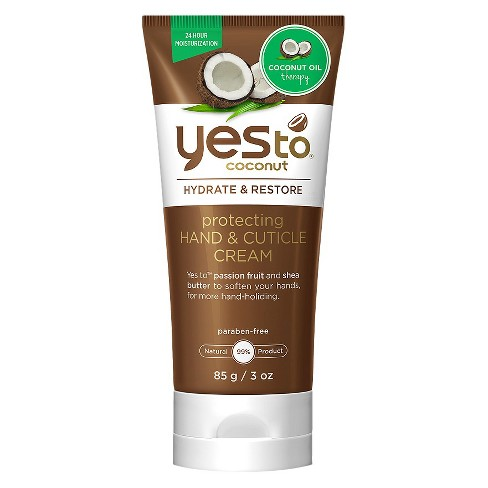Yes to Coconut Protecting Hand and Cuticle Cream - 3 oz - image 1 of 1