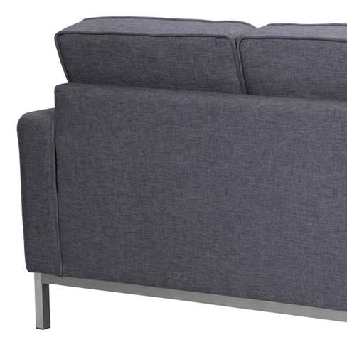 Chandler Contemporary Sofa Dark Gray - Armen Living