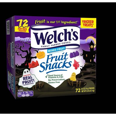 Welch's Halloween Mixed Fruit Snack - 2.25lb/72ct