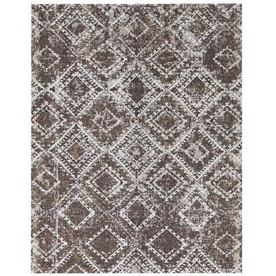 6' x 8' Distressed Outdoor Rug - Foss Floors