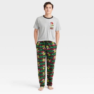 Men's The Grinch Dr. Seuss Pajama Set
