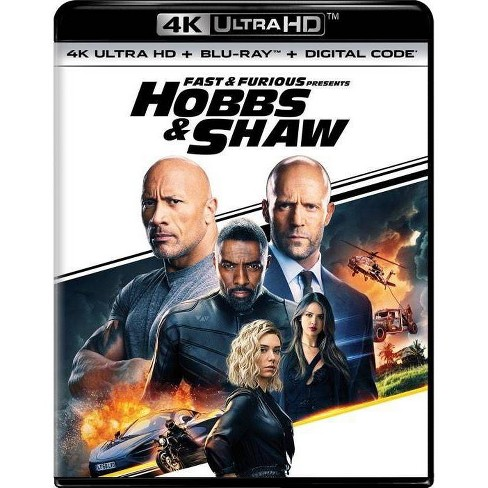 Fast Furious Presents Hobbs Shaw 4k Uhd Target