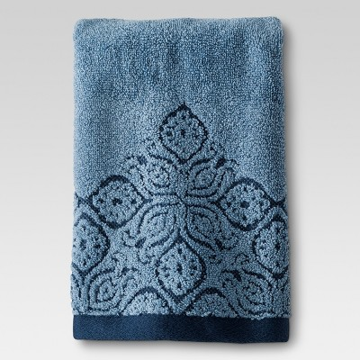 Hand Towel - Blue Border - Threshold™