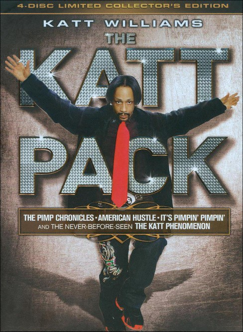 Katt Williams: The Katt Pack [4 Discs] - image 1 of 1