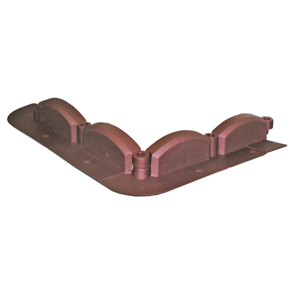 "Image of ""3.50"""" Trimfree Lawn Edging, 20 Pc - Red Brick - Emsco"""