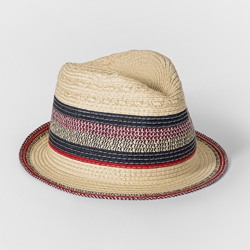 Kids' Americana Fedora - Cat & Jack™ Blue One Size - image 1 of 1