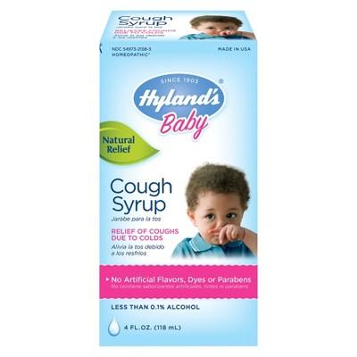 Children's Hyland's Baby Cough Syrup - 4 fl oz