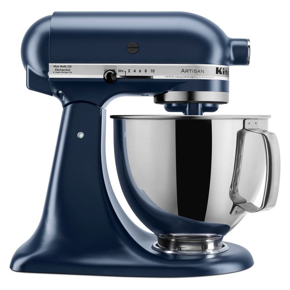 KitchenAid Refurbished 5qt Artisan Stand Mixer Ink Blue – RRK150IB 53960957