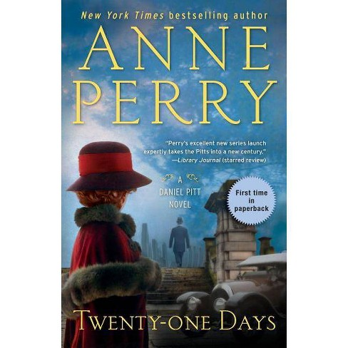 Twenty-One Days - (Daniel Pitt) by  Anne Perry (Paperback) - image 1 of 1