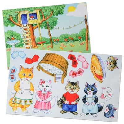 Story Time Felts The Three Little Kittens Who Lost Their Mittens Felt Board