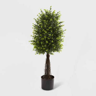 35  Ixora Topiary UV Resistant - Nearly Natural