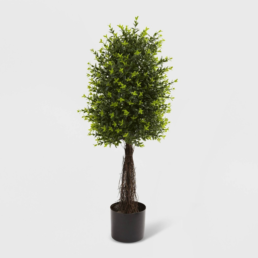 35 Ixora Topiary UV Resistant - Nearly Natural, Green