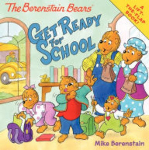 Berenstain Bears Get Ready for School (Hardcover) (Jan Berenstain) - image 1 of 1
