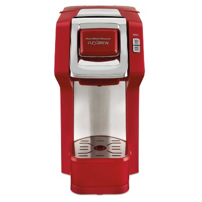 Hamilton Beach 2.5-Cup FlexBrew Coffee Maker - Red