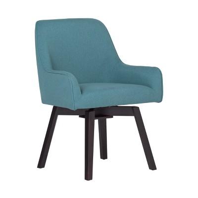 Home Spire Swivel Chair - Blue - Studio Designs
