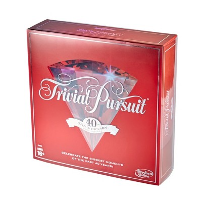 Trivial Pursuit Game 40th Anniversary Ruby Edition