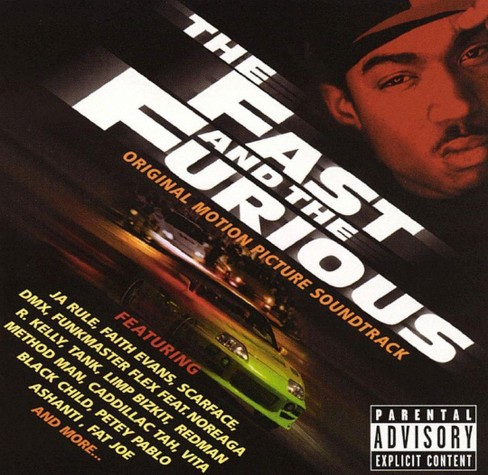 Various Artists - The Fast and the Furious (Original Motion Picture Soundtrack) [Explicit Lyrics] (CD) - image 1 of 1