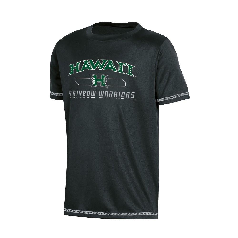 NCAA Boys' Poly T-Shirt Hawaii Rainbow Warriors - M, Multicolored