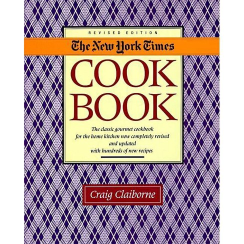 New York Times Cookbook - by  Craig Claiborne (Hardcover) - image 1 of 1